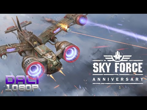 Sky Force Anniversary  PC Gameplay 60FPS 1080p