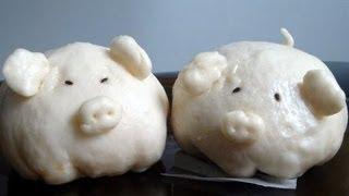 Vietnamese Steamed Buns (Bánh bao)