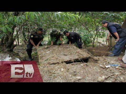 Localizan 60 fosas clandestinas en lo que va del 2015