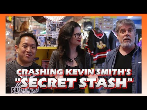 Crashing Kevin Smith's Secret Stash with Comic Book Men's Ming Chen and Michael Zapcic