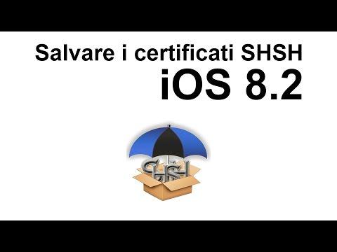 Salvare gli SHSH di iOS 8.2 con il nuovo TinyUmbrella Beta (видео)