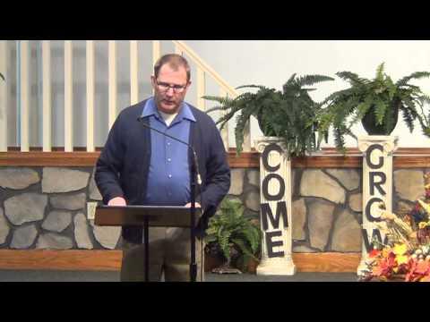 Goshen Christian Church Jeff Van Curen Testimony part 2, 11.10.13