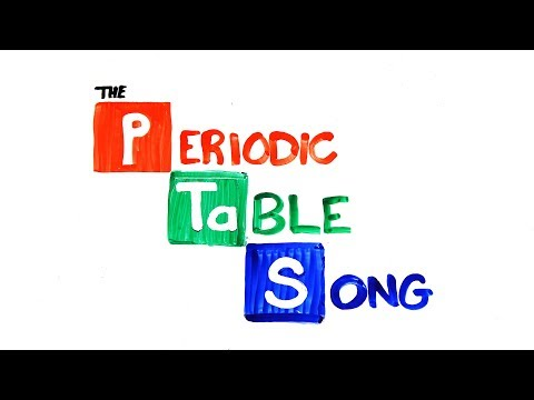 The NEW Periodic Table Song (Updated) (видео)