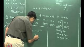 Mod-07 Lec27 Ordinary Differential Equations (initial value problems) Part 3