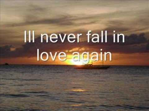 I'll never fall in love again - elvis costello