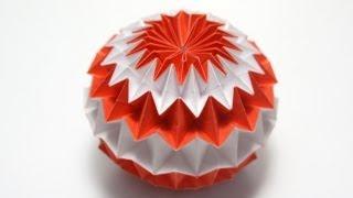 Origami Magic Ball (Dragon's Egg by Yuri Shumakov) -