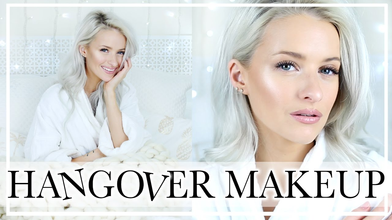 CHATTY HUNGOVER MAKEUP ROUTINE: Fresh and Dewy Look