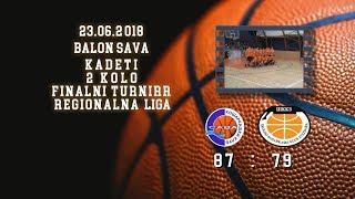 kk sava2 kk zvezdara 87 79 (kadeti 2, 23 06 2018 ) košarkaški klub sava