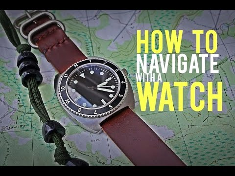 Navigate with an Analog Watch- Huckberry Field Navigator