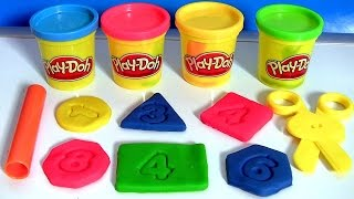 Play Doh Back To School Chalkboard Playset Learn Shapes & Numbers