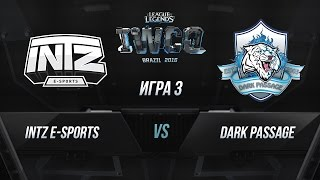 INTZ vs DP, game 3