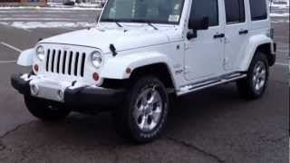 2013 Jeep Wrangler Unlimited Sahara Walk Around/Test Drive/ @MacIver Dodge Newmarket John MacIver