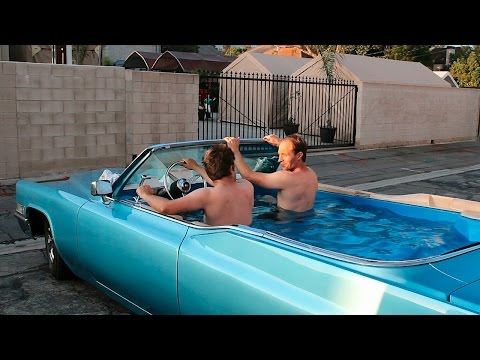 Hot Tub Cadillac%3A Friends Hope To Set World Record For Fastest Hot Tub Car