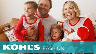 Stay Cozy This Holiday Season With Chrissy Powers And Her Family's Matching Pajamas | Kohl's