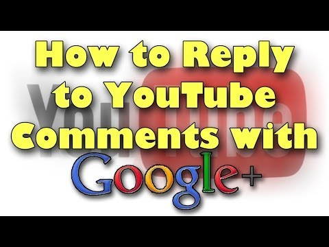 reply - Subscribe: http://www.youtube.com/subscription_center?add_user=LarryBundyJr A Quick tutorial on how to respond to people in YouTube videos after Google+ inte...