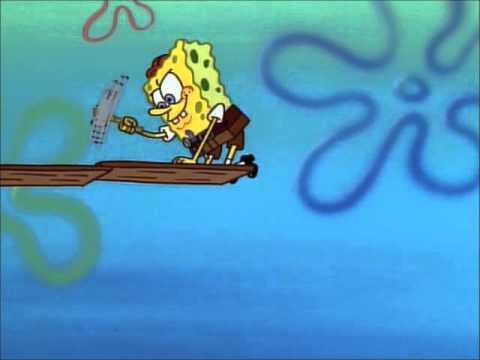 Spongebob and Patrick Try To Rebuild Spongebob's House