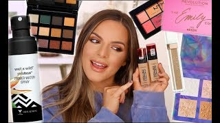 FULL FACE USING DRUGSTORE PRODUCTS! FIRST IMPRESSIONS AND HOLY GRAILS   Casey Holmes by Casey Holmes