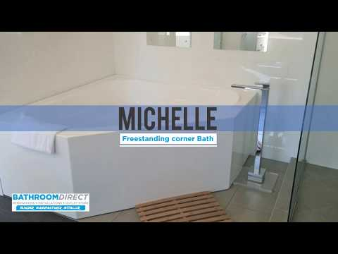 Michelle Corner Bath Bathroom Direct