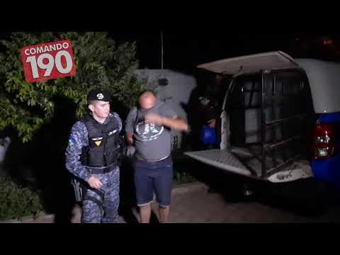Em menos de 1 hora, PM recupera objetos que foram furtados de residência e prende suspeito