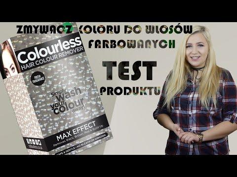 COLOURLESS - TEST - czyli dekoloryzacja włosów! MARUDA #1
