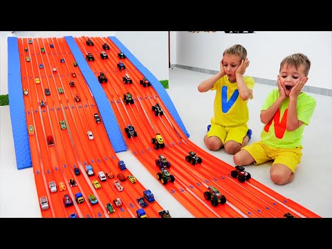 Vlad and Niki play and make Toy Cars Competition!