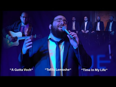 One Night in Brooklyn... Blue Melody - Boruch Sholom - Yedidim Choir (видео)