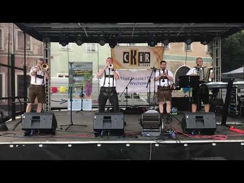 Wideo1: Fragment występu zespołu Silesian Tyrol Band na Dniach Wschowy