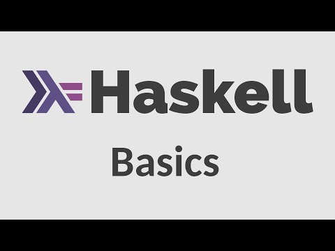 Haskell for Imperative Programmers #1 - Basics