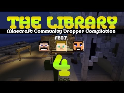 Minecraft - The Library (Dropper Compilation) - EP04