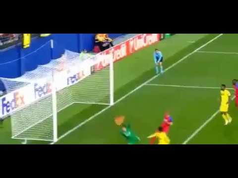 Villareal-Steaua Bucarest 1-0   Goal Sansone   Europa League 08/12/2016
