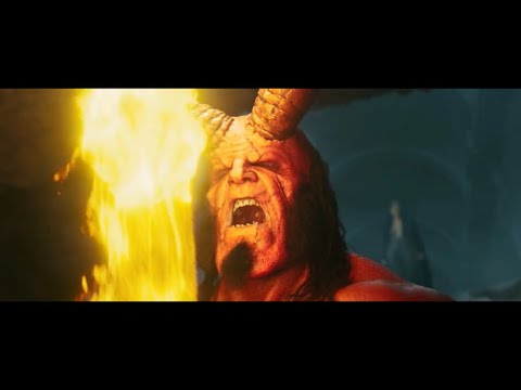 "Hellboy 2019"" Hellboy Takes The Sword/Turns Into The Demon/Releases Monsters""Scene"