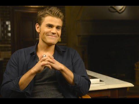 On the Set: Vampire Diaries