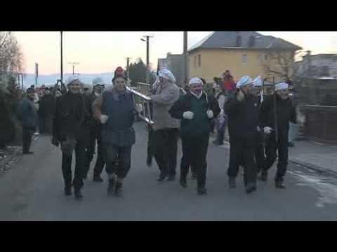 Silvestrovký běh obcí v Malých Hošticích