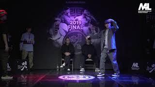 MT Pop vs Bambi – 멋 2019 FINAL POPPING 1on1 BATTLE SIDE BEST8