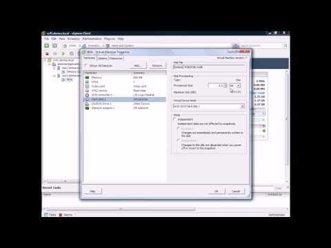 ¿Cómo convertir un disco thin a thick en VMware vSphere?
