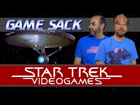 Star Trek Videogames - Game Sack