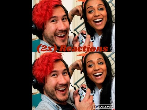 Reacting to How to Date a Gamer and Bloopers ft Markiplier by SuperWoman!