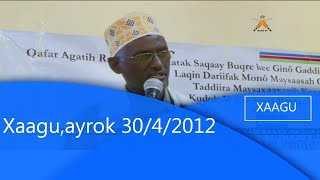 Xaagu,ayrok 30/4/2012