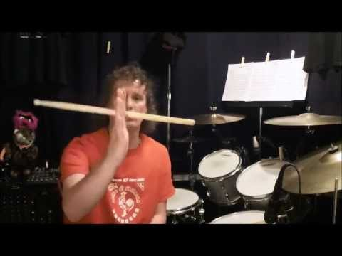 My Super Easy Drum Stick Spinning Method!