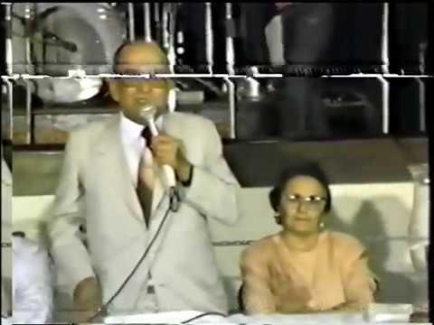 Inauguração do CCSE de Juru - PB, em 11 de Novembro de 1988 / ADM. Prefeito Dalmo Teixeira