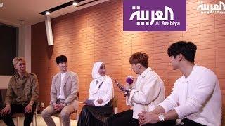 لقاء فرقة CNBLUE الكورية على صباح العربية- - الجزء الثاني.