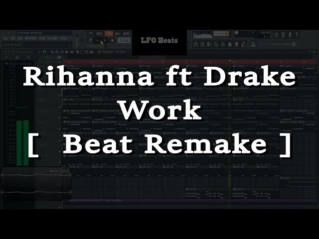 how to make a drake beat on fl studio 12