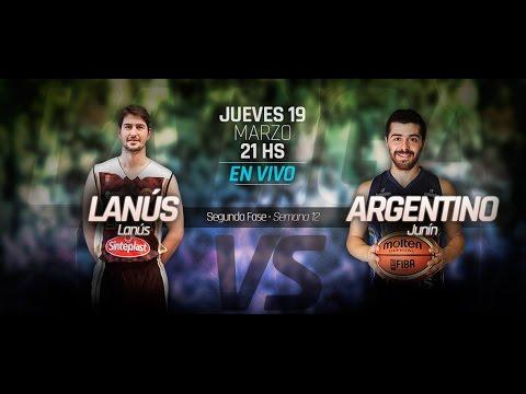 Lanús 116 - Argentino de Junín 85