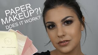 Today's video is first impressions and review on PAPER MAKEUP from Mai Couture. PS: have you entered my giveaway? CLICK HERE: https://www.youtube.com/watch?v=Zh7P8smkHN8S U B S C R I B E  H E R E ► https://www.youtube.com/subscription_center?add_user=amandamariabeauty06_____________________________L E T S  C O N N E C T ►For Business Inquiries: amandamaria.speroni@gmail.com♡ INSTAGRAM ♡ https://instagram.com/amandasperoni/♡ TWITTER ♡ https://twitter.com/amandasperoni♡ FACEBOOK ♡ https://www.facebook.com/AmandaSperoniYT/♡ BLOG ♡ https://www.amanda-speroni.blogspot.ca♡ SNAPCHAT ♡ AmandaSperoniYT_____________________________P R O D U C T S  M E N T I O N E D ► Mai Couture Rose Oil blotting papers - http://bit.ly/2vGbzkUMai Couture Blush Papers - http://bit.ly/2fUAlWNMai Couture Highlighter Papers - http://bit.ly/2fUAlWN_____________________________P R E V I O U S   V I D E O S ►⇢Urban Decay Naked Heat Tutorial: https://youtu.be/rKHem5ThFo8⇢Elf Cosmetics Magnetic Mask Review: https://youtu.be/hy3a23aXc-Q⇢Nudestix Babeboss fave set review: https://youtu.be/lYQfvjjd-68⇢Summer Beauty Must Haves: https://youtu.be/aZW4EmpSdT0⇢The Bodyshop Fresh Nude foundation review: https://youtu.be/eju3dNt9Bt4⇢Generation Beauty swag bag unbagging: https://youtu.be/-DiZK9UsUiQ⇢Crown Brush 35 Rose Gold tutorial: https://youtu.be/OIn3LIAY6tI⇢NYX Cosmetics Duo Chromatic Powders review: https://youtu.be/Ma-b-qd5KZA⇢L'Oreal Lash Paradise vs Too Faced Better Than Sex Mascara: https://youtu.be/NbUIiGO7mDI⇢ KKW x Kylie Cosmetics Swatches and Review: https://youtu.be/G6LUdk5Ox6s_____________________________M U S I C ►Unknown Brain - Inspiration (ft. Aviella) [NCS Release]https://www.youtube.com/watch?v=aCH1eyWq9B0_____________________________D I S C L A I M E R ►This video is not sponsored! All opinions are 100% mine and I only talk about products I genuinely like. Some links above are affiliate links! Thanks for all your support! ♡ ♡