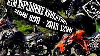8. KTM Superduke 990 vs 1290 comparison (2008 / 2015)