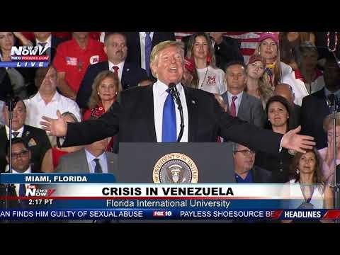 NO SOCIALISM: President Trump Takes On Alexandria Ocasio-Cortez