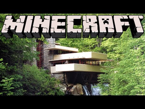 Minecraft - Falling Water House