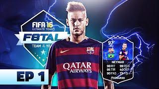 F8TAL NEYMAR TOTY | EPISODIO 1 | FIFA 16 | DjMaRiiO, neymar, neymar Barcelona,  Barcelona, chung ket cup c1, Barcelona juventus