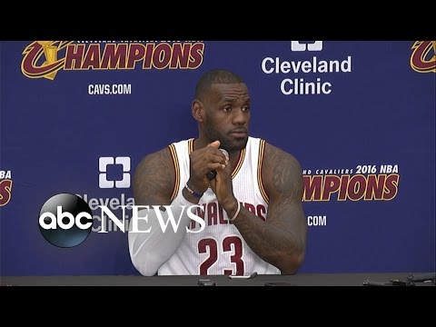 LeBron James: Threat of Police Violence a 'Scary-A** Situation'