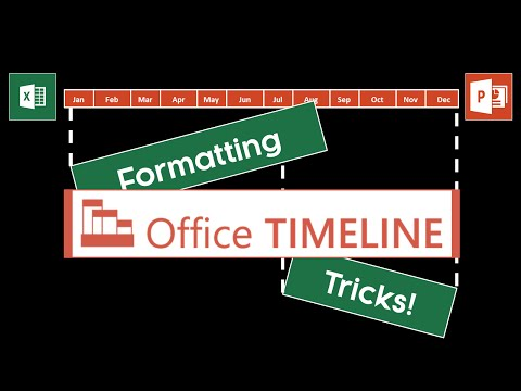 Office Timeline Formatting Tricks (My Favorites)